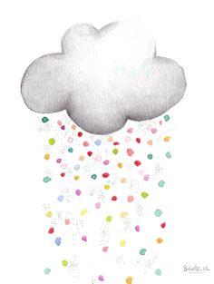 lluvia de martes