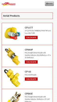 This is a marketing tool to learn more about agricultural spray nozzles and agricultural check valves by CP Products.