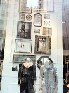 Frames - Club Monaco Store Design