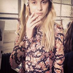 Exposed, the naked nail trend from London Fashion Week - Telegraph