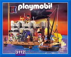 PLAYMOBIL� set #3112 - Naval Stronghold
