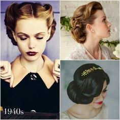Vintage Wedding Hairstyles - A Brief History | Percy Handmade