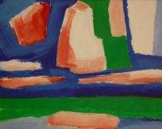 Landschap met rode wolk, 1978
