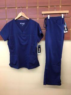 0b617ba6b0a NEW Grey's Anatomy Navy Blue Solid Scrubs Set With XL Top & XL Petite Pants  NWT #fashion #clothing #shoes #accessories #uniformsworkclothing #scrubs  (ebay ...