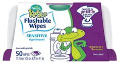 Kandoo Kids Coupon: Flushable Wipes, Only $0.49 at Target!