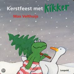 Kikker en Eend spelen in de sneeuw en gaan een kerstboom halen omdat het morgen Kerstmis is. Hardkartonnen prentenboekje met eenvoudige tekeningen in kleur. Vanaf ca. 2 jaar.
