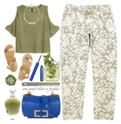 """""""August"""" by grozdana-v ❤ liked on Polyvore featuring Ancient Greek Sandals, Landi, Urban Decay and EB Florals"""