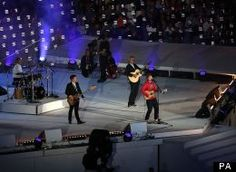 """It takes a daring young performer to throw formality to the wind and choose to wear a hoodie and jeans to perform in front of millions of people at the closing ceremony of the Olympic Games. This is exactly what rising British star Ed Sheeran did, as he performed an emotional cover Pink Floyd's 1975 classic """"Wish You Were Here."""" Sheeran's heartfelt rendition of the Pink Floyd hit was more of a tear-jerker. Sheeran was even joined by an original member of the band, Pink Floyd drummer Nick…"""