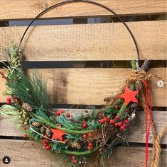 Christmas Home, Wreaths, Shapes, Floral, Home Decor, Fall Winter, Decoration Home, Door Wreaths