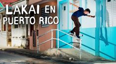 """Lakai En Puerto Rico"" Video - http://DAILYSKATETUBE.COM/lakai-en-puerto-rico-video/ - With sunshine, murals, and rad paint-jobs everywhere, PR produces some colorful clips. This was a ripping trip with never-seen street spots and some sick pits. Here's Raven Tershy, Ronnie Sandoval, Vincent Alvarez, Jon Sciano, Stevie Perez, Sebo Walker and several others. Keep up with Thrasher - lakai, Puerto, Rico, video"