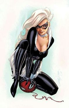 Black Cat by J Scott Campbell