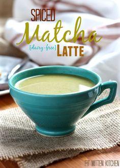 Spiced Matcha Latte [dairy-free, vegan, paleo]