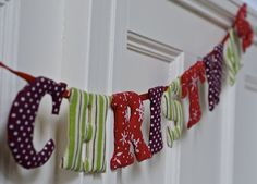 Christmas bunting DSC_4451 by Plashing Vole, via Flickr