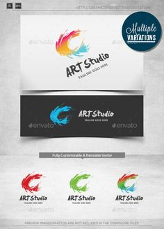 Creative C Art  Logo Template — Vector EPS #ink #artist • Available here → https://graphicriver.net/item/creative-c-art-logo-template/10026547?ref=pxcr