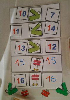Los cocodrilos para comparar números es un recurso que he visto en varios blog y páginas http://aprendiendomatematicas.com/calculo-mental-...
