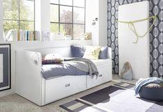 Rozkladcia posteľ so zásuvkami Bergen cm Teen Room Decor, Bergen, Helsinki, Interior Design, Bedroom, House, Furniture, Home Decor, Rooms