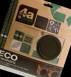 Cardboard speakers design
