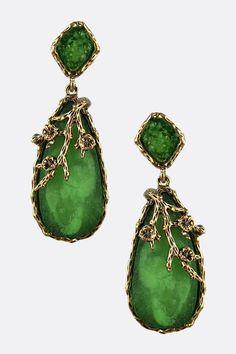 Kelly Grace Teardrop Earrings | Emma Stine Jewelry Earrings