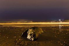 Ballycastle Shore At Night, image taken by Steven Black of S Black Photo. Night, Beach, Water, Outdoor, Image, Water Water, Aqua, Outdoors, The Beach