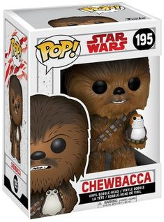 Episode 8 - The Last Jedi - Chewbacca with Porg Vinyl Bobble Head 195     12.99 large.nl