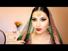 Indian Inspired Makeup Using All Motive Cosmetic Products, All products seen in video can be ordered off my website, http://shop.com/taskin