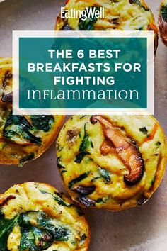 So, what are the best ways to start your day if you're trying to bump down inflammation in the body? Here are six of the best breakfasts for reducing inflammation. Good Healthy Recipes, Healthy Breakfast Recipes, Healthy Eating, Clean Eating, Mediterranean Diet Meal Plan, Mediterranean Recipes, Lupus Diet, Nutrition, Anti Inflammatory Recipes