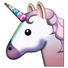 emoticone licorne