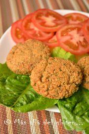 Hamburguesas de quinua con verduras en HazteVegetariano.com