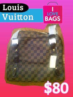 $80 Damier Handbag    Bolsa de mano Damier