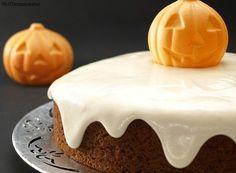 Pastel de calabaza con frosting de queso - MisThermorecetas.com
