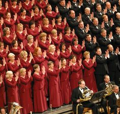 These red dresses were worn as the Choir performed in Our Lady of the Angels cathedral in Los Angeles, California. Tabernacle Choir, Mormon Tabernacle, Choir Uniforms, Choir Dresses, Light Of The World, Bridesmaid Dresses, Wedding Dresses, Our Lady, My Favorite Music
