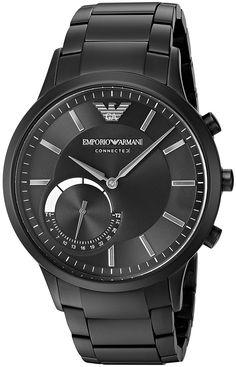 Emporio Armani Connected Hybrid Smartwatch Men's ART3001 Black Emporio Armani makes its introduction into wearables with the Emporio Armani Connected hybrid Read more http://themarketplacespot.com/emporio-armani-connected-hybrid-smartwatch-mens-art3001-black/