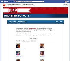 RNC FB register to vote app