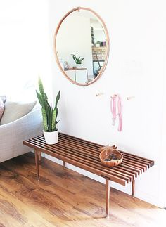 My entryway is finally complete- whew hooooo! It was a very long process as I was being SUPER picky. I searched hundreds of benches. And then I started to search for the perfect hooks. And then I started to go insane because I was spending too much time looking at benches and hooks. And then …