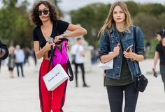 All the Latest Street Style Shots From Paris Fashion Week | WhoWhatWear