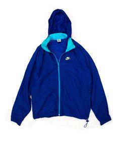 Nike Windrunner Blue/Teal Large