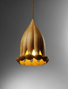 Pendant Lamp - Hydro Lamp collection inspired by deep sea creatures by Laszlo Tompa.