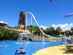 Um dia no Beach Park - parque aquático do Ceará Beach Park, Vaulting, Tower Bridge, Golden Gate Bridge, Brazil, Blog, Water Playground, Travel Tourism, Travel Tips