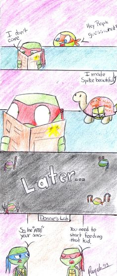 when you bedazzle the turtle, there will be consequences (did I spell that right?)