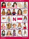 American Girl doll bingo