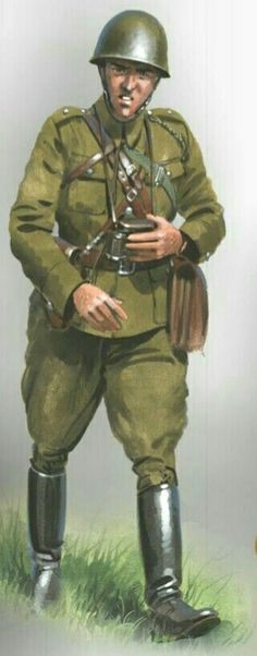 Polish Army 1939, officer - pin by Paolo Marzioli