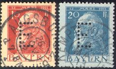 Bavarian State Railway (Eisenbahn) E perfins Alexander Mcqueen Scarf, Exploring, Stamps, Image, Collection, Seals, Explore, Postage Stamps, Research