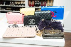 All CHANEL everything at chez Kaley Cuoco.  http://www.thecoveteur.com/kaley_cuoco