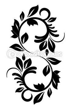 Vintage pattern for design. Vector illustration