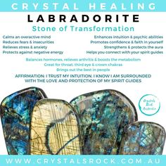 Discover the healing benefits of Labradorite crystals and stones Crystal Meanings, Psychic Abilities, Spirit Guides, How To Relieve Stress, Stones And Crystals, Labradorite, Meant To Be, Candle, Healing
