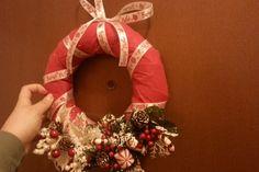 ghirlanda natalizia in feltro natale 2014