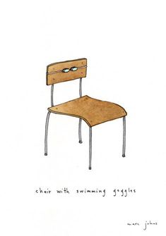 Marc Johns #ChairDrawing