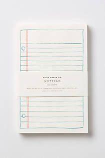 Schoolyard Notepad