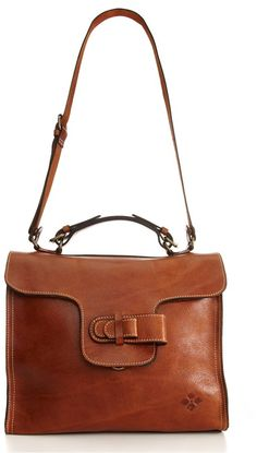 WANT: Italian leather messenger.  TJ Maxx. Obsessed. Has an iPad pocket. Style: Pisa Designer: Patricia Nash
