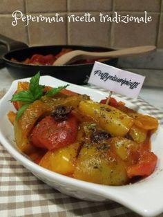 Peperonata ricetta tradizionale